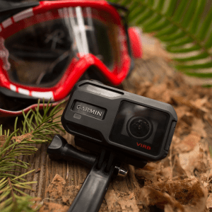 VIRB® X Action Camera in Woods
