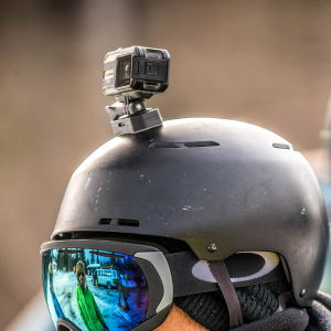 VIRB® X Action Camera on Head