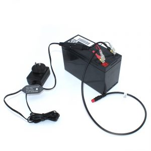 Battery with Splitter for portable fishing kit