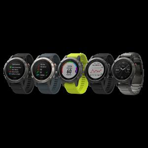 Garmin fenix 5 Multi Sport GPS Watch - Sapphire Edition: Black