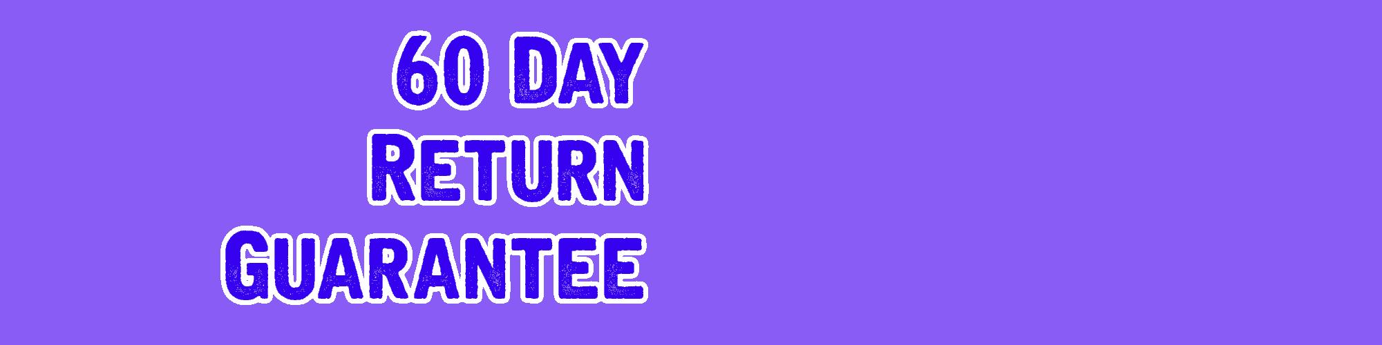 60 Day return & Tech Support-OUTDOOR GARMIN