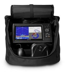 Panoptix Ice Fishing Portable Bundle - echomap chirp 73cv