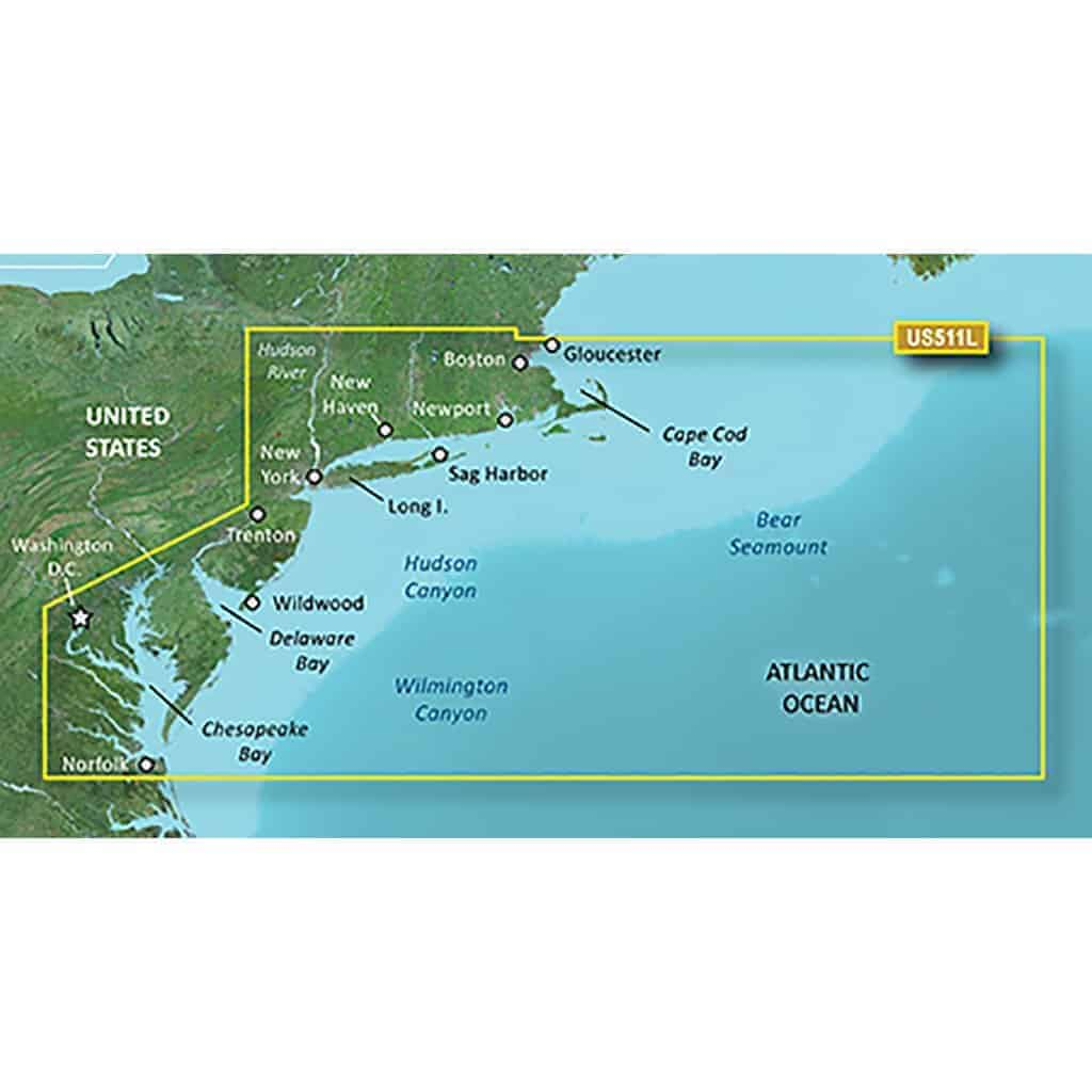 Boston-Norfolk BlueChart g2 Vision HD Maps microSD Data Card