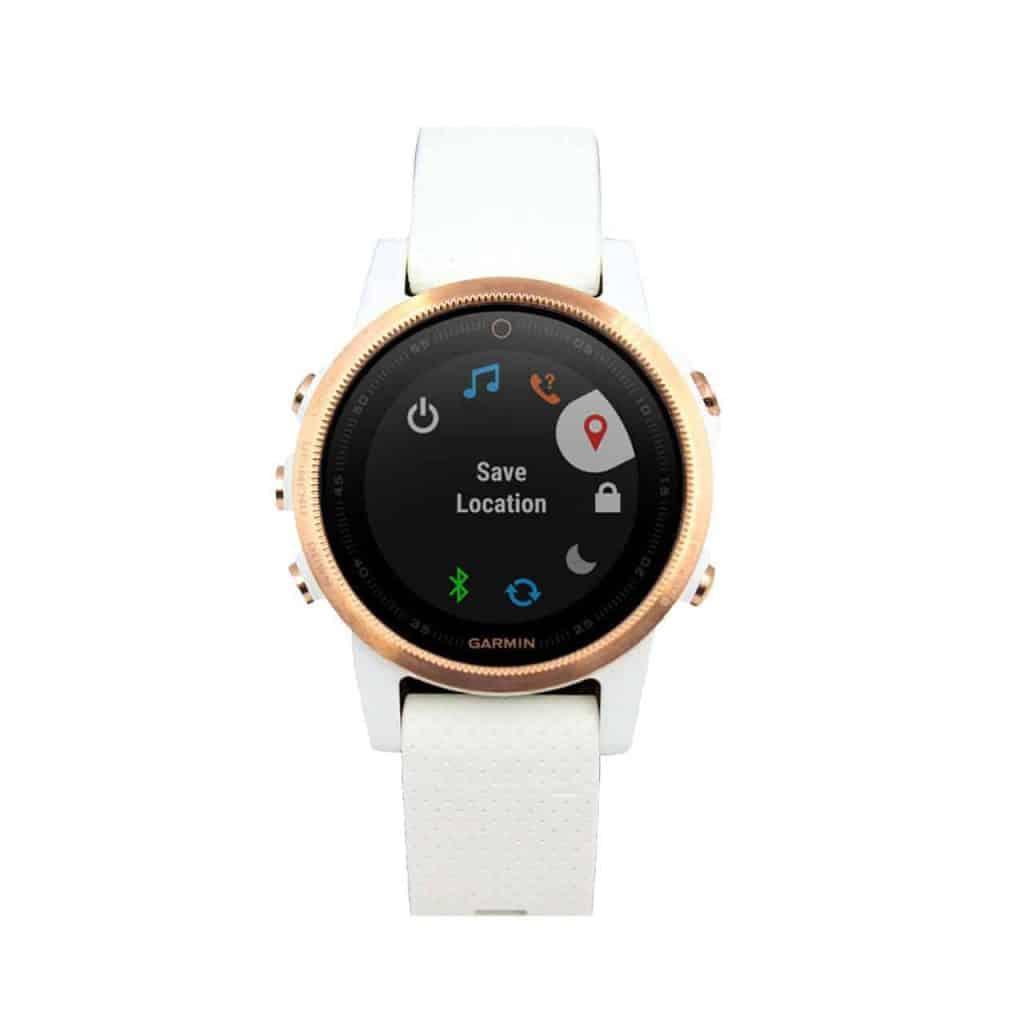 garmin-fenix-5s-watch-rose-sapphire-with-white-band 010-01685-16