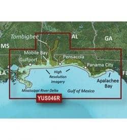 Alabama Mississippi Gulf Coast - bluechart g2 vision hd 010-C1139-20