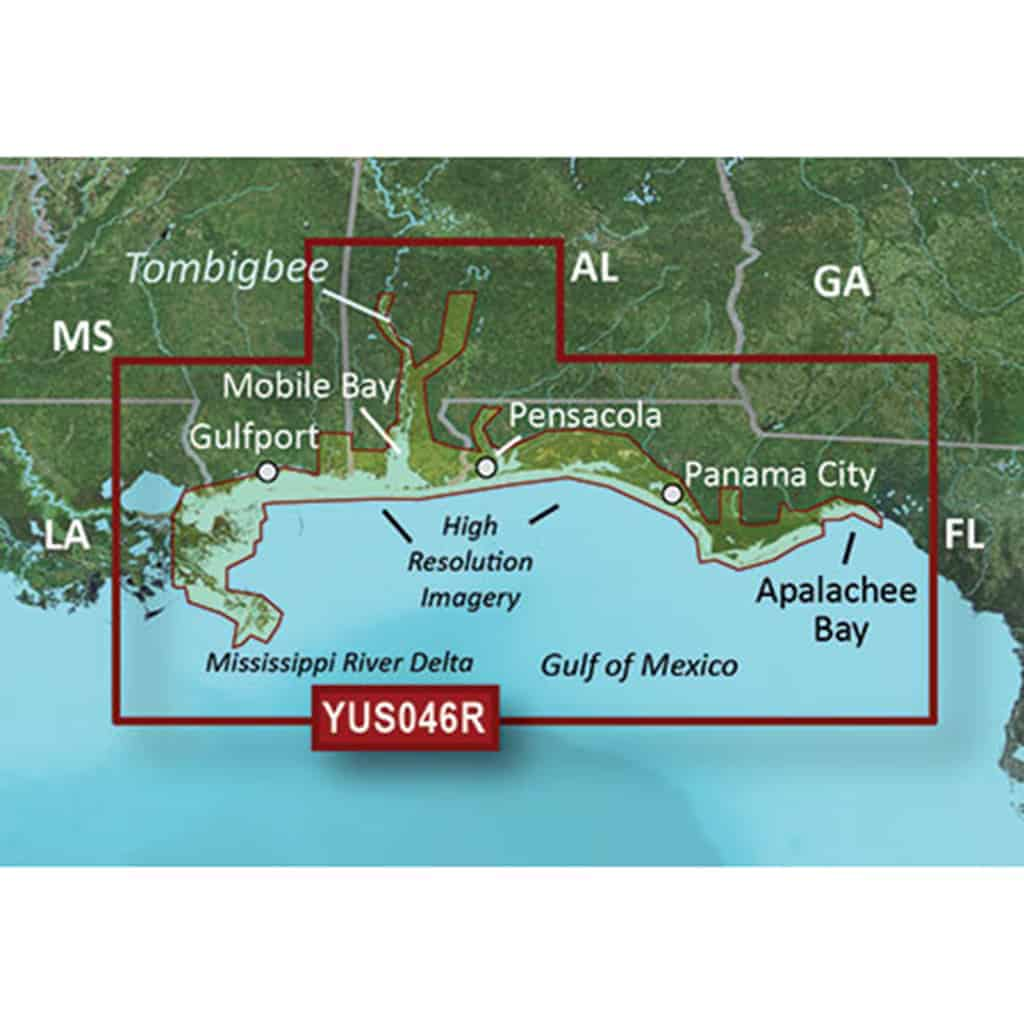 Details about Alabama-Mississippi Gulf Coast BlueChart g2 Vision HD Maps  microSD Data Card