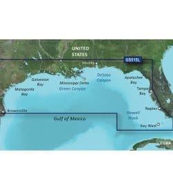 Brownsville - Key Largo Bluechart g2 vision hd 010-C0744-00