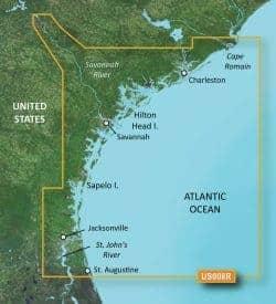 Charleston-Jacksonville Bluechart g2 vision hd 010-C0709-00