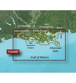 Louisiana Bayou Bluechart g2 vision hd 010-C1121-20
