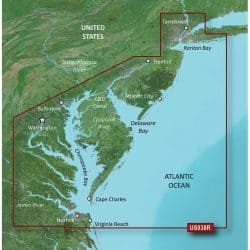 New York-Chesapeake Bluechart g2 vision hd 010-C1004-00