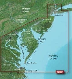 New York-Chesapeake Bluechart g2 vision hd 010-C1004-00