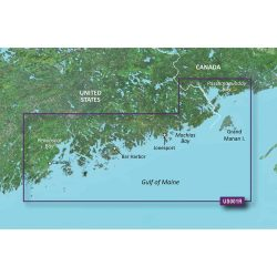 North Maine Bluechart g2 vision hd 010-C0702-00