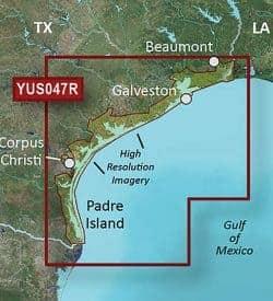 Texas Gulf Coast Bluechart g2 vision hd 010-C1138-20
