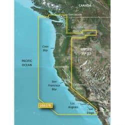 Vancouver - San Diego Bluechart g2 vision hd 010-C1003-00