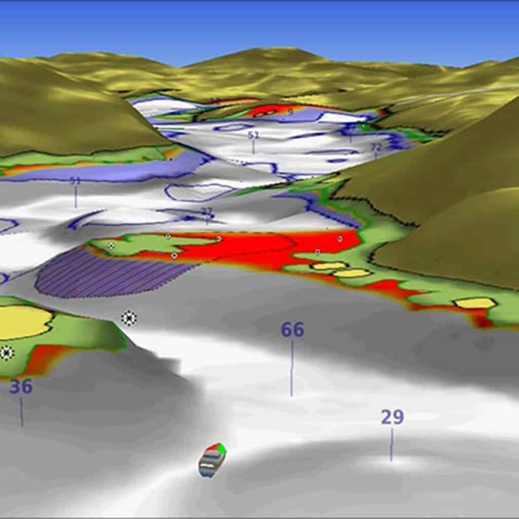 Texas Gulf Coast Blue Chart g2 Vision HD Maps microSD Data ...