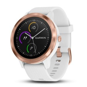 vívoactive® 3 White with Rose Gold Hardware