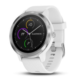 vívoactive® 3 White with Silver Hardware
